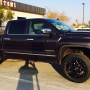 2014 GM 1500 leveling kit, 33in tires and 20in wheels