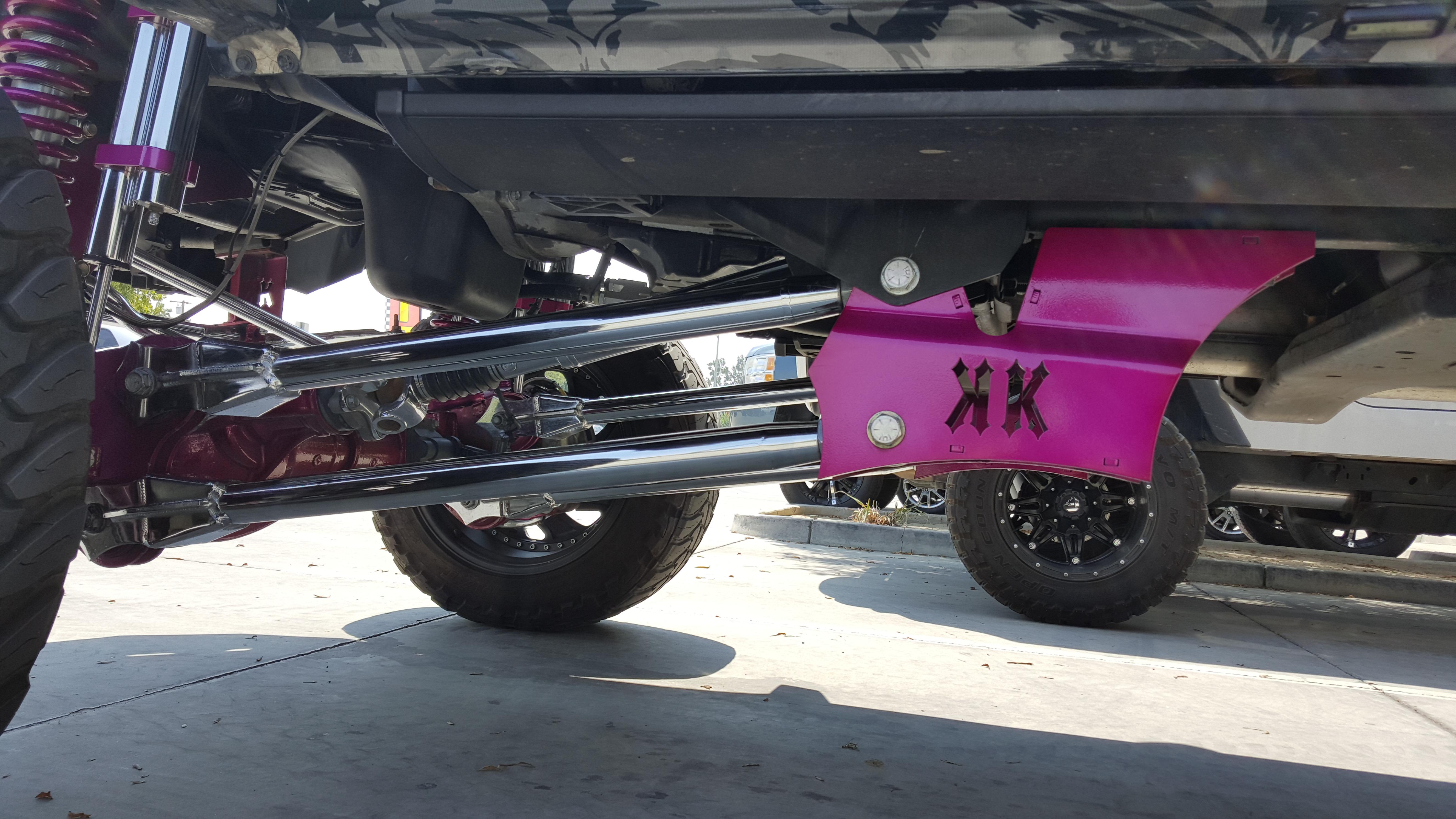 2016 Ram 2500 Leveling Kit >> KK Fabrication Dodge Ram 2500/3500 4 Link Kit